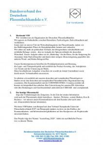 thumbnail of Presseartikel Verband der Deutschen Fachgroßhändler VDF